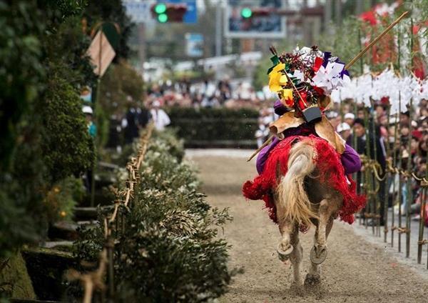 肝付町の伝統行事、高山やぶさめ祭りが開催!
