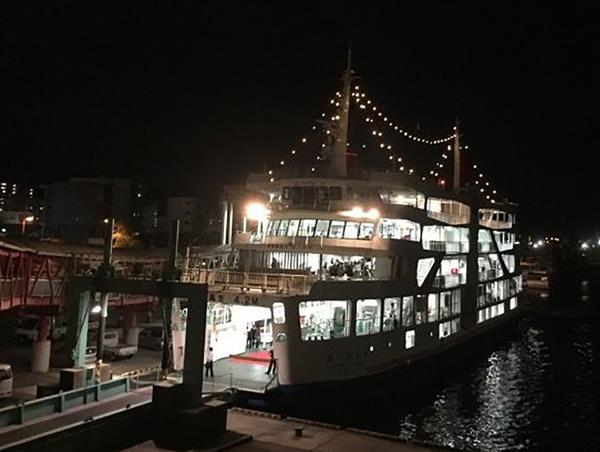 船上で楽しむ焼酎ナイト♪第3回錦江湾Shochuナイトクルーズ