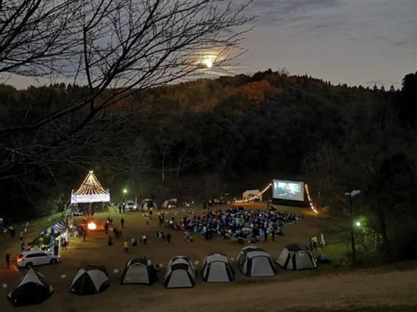 11月3日(日)入場無料の野外シネマフェスで特別な一夜を。「ツキ