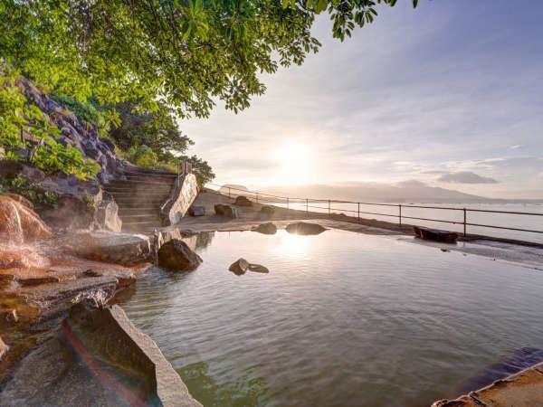 桜島シーサイドホテル、絶景の露天風呂は立ち寄り湯もok