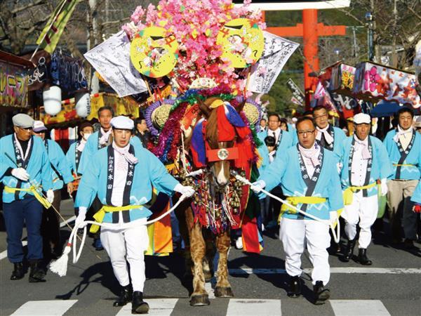 2月16日(日)鹿児島神宮の初午祭