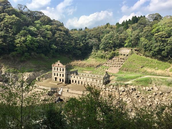 【伊佐市】神秘的な雰囲気の産業遺跡「曽木発電所跡」