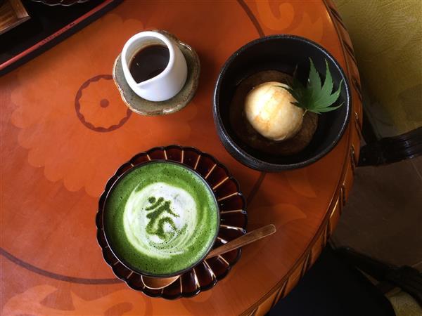梵字ラテが味わえる和カフェもオススメ「岩屋公園」
