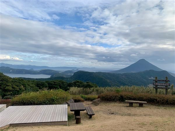 薩摩半島の360度の絶景に感動!「大野岳公園」